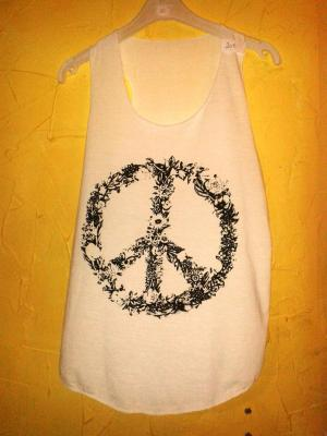 DÉBARDEUR PEACE AND LOVE