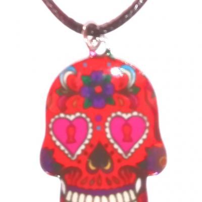 COLLIER TÊTE DE MORT ( MEXICAIN )