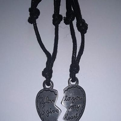 COLLIER LOVE SECABLE