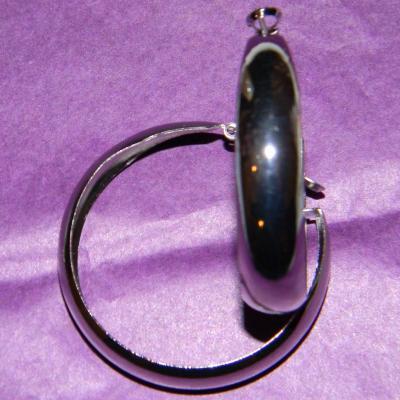 créole métal argenté