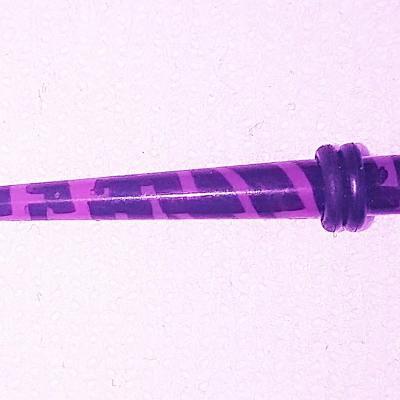 Elargisseur acrylique UV 4mm