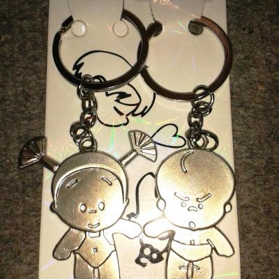 Porte clés duo